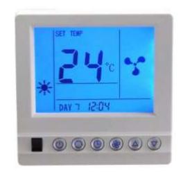XY8008款中央空调温控器